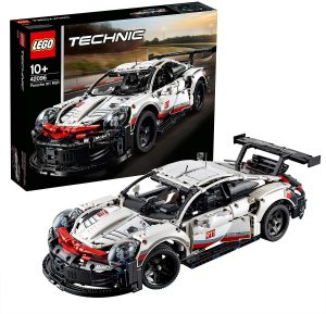 Los mejores puzzles de Porsche - Puzzle de Porsche 911 en 3D de LEGO