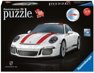 Los mejores puzzles de Porsche - Puzzle de Porsche 911 en 3D de Ravensburger