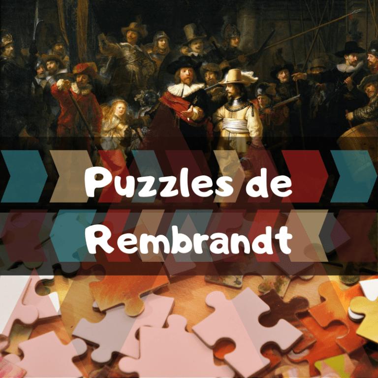 Los mejores puzzles de Rembrandt