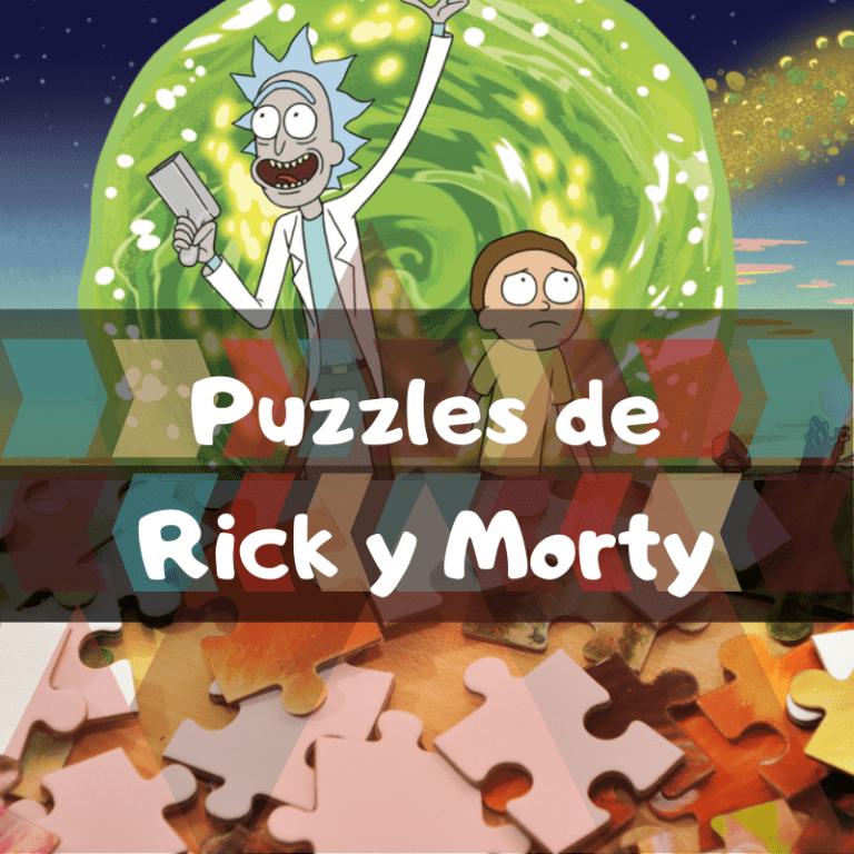 Los mejores puzzles de Rick y Morty