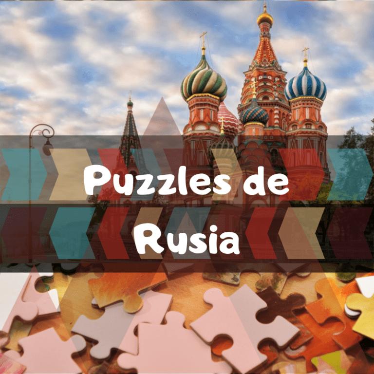 Los mejores puzzles de Rusia