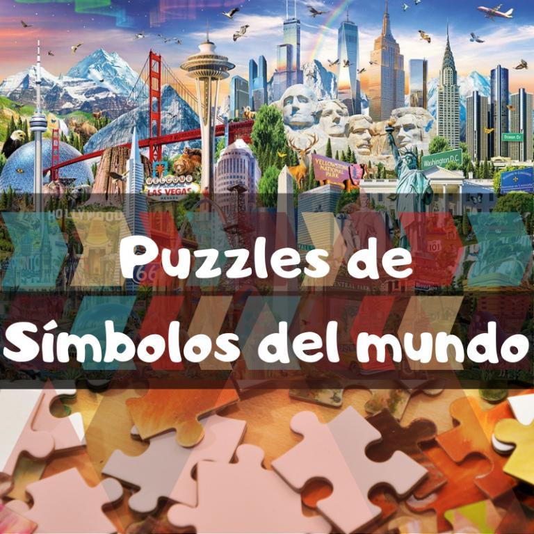 Los mejores puzzles de Símbolos del Mundo