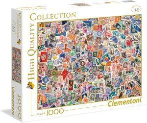 Los mejores puzzles de Sellos - Stamps - Puzzle de sellos de 1000 piezas de Clementoni