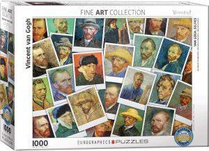 Los mejores puzzles de Sellos - Stamps - Puzzle de sellos de Van Gogh de 1000 piezas de Eurographics