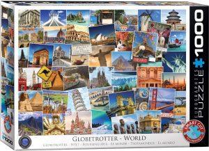 Los mejores puzzles de Sellos - Stamps - Puzzle de sellos del mundo de 1000 piezas de Eurographics