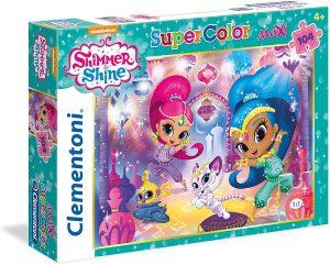 Los mejores puzzles de Shimmer y Shine - Puzzle de Shimmer y Shine de 104 piezas de Clementoni