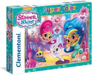 Los mejores puzzles de Shimmer y Shine - Puzzle de Shimmer y Shine de 60 piezas de Clementoni 2