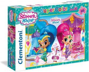 Los mejores puzzles de Shimmer y Shine - Puzzle de Shimmer y Shine de 60 piezas de Clementoni
