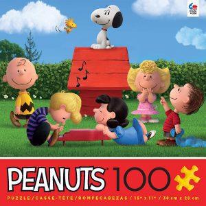 Los mejores puzzles de Snoopy de Peanuts - Puzzle de Snoopy clásico de 100 piezas de Ceaco