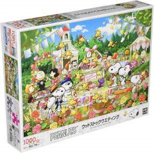 Los mejores puzzles de Snoopy de Peanuts - Puzzle de boda de Snoopy de 1000 piezas de Epoch