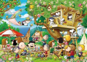Los mejores puzzles de Snoopy de Peanuts - Puzzle de casa del árbol de Snoopy de 3000 piezas de Epoch