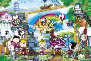 Los mejores puzzles de Snoopy de Peanuts - Puzzle de grabación de Snoopy de 1000 piezas de Epoch