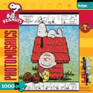 Los mejores puzzles de Snoopy de Peanuts - Puzzle de mosaico de Peanuts de Snoopy de 1000 piezas de Buffalo Games