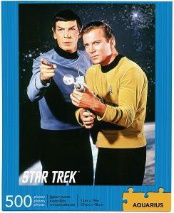 Los mejores puzzles de Star Trek - Puzzle de Kirk y Spock de Star Trek de 500 piezas de Aquarius