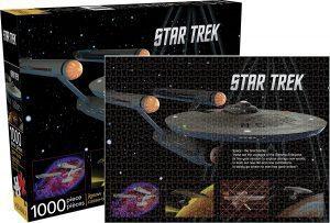 Los mejores puzzles de Star Trek - Puzzle de Star Trek Enterprise de 1000 piezas de Aquarius