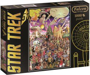 Los mejores puzzles de Star Trek - Puzzle de Star Trek de 1000 piezas de Jumbo