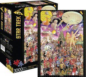 Los mejores puzzles de Star Trek - Puzzle de Star Trek del 50 Aniversario de 3000 piezas de Aquarius