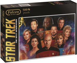 Los mejores puzzles de Star Trek - Puzzle de personajes de Star Trek Nueva Generación de 500 piezas de Jumbo