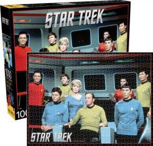 Los mejores puzzles de Star Trek - Puzzle de personajes de Star Trek de 1000 piezas de Aquarius