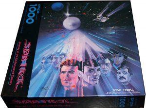Los mejores puzzles de Star Trek - Puzzle de personajes de Star Trek de 1000 piezas de Springbok