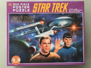 Los mejores puzzles de Star Trek - Puzzle de personajes de Star Trek de 300 piezas de Retro
