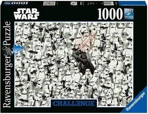 Los mejores puzzles de Star Wars - Puzzle de Star Wars Challenge de 1000 piezas de Ravensburger - Personajes del Universo de Star Wars