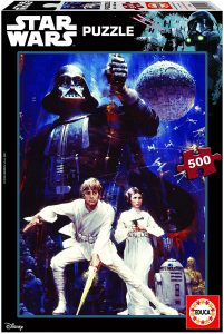 Los mejores puzzles de Star Wars - Puzzle de Star Wars Una Nueva Esperanza de 500 piezas de Educa - Personajes del Universo de Star Wars