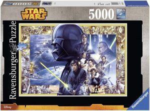 Los mejores puzzles de Star Wars - Puzzle de Star Wars de 5000 piezas de Ravensburger - Personajes del Universo de Star Wars