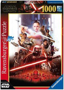 Los mejores puzzles de Star Wars - Puzzle de Star Wars de Episodio IX de 1000 piezas de Ravensburger 2 - Personajes del Universo de Star Wars