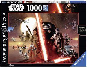 Los mejores puzzles de Star Wars - Puzzle de Star Wars de Episodio IX de 1000 piezas de Ravensburger - Personajes del Universo de Star Wars