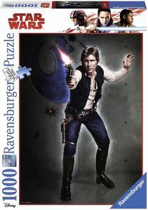 Los mejores puzzles de Star Wars - Puzzle de Star Wars de Han Solo de 1000 piezas de Ravensburger - Personajes del Universo de Star Wars
