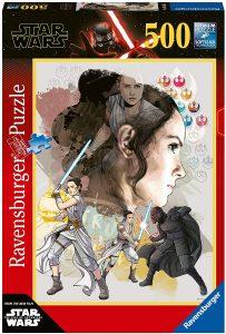 Los mejores puzzles de Star Wars - Puzzle de Star Wars de Rey vs Kylo de 500 piezas de Educa - Personajes del Universo de Star Wars