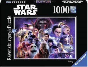 Los mejores puzzles de Star Wars - Puzzle de Star Wars de secuelas de 1000 piezas de Ravensburger - Personajes del Universo de Star Wars
