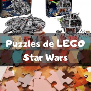 Los mejores puzzles de Star Wars de LEGO - Construcciones de LEGO de Star Wars en 3D - Puzzles de LEGO de Star Wars