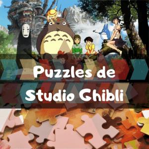 Los mejores puzzles de Studio Ghibli - Puzzles de Studio Ghibli - Puzzle de Studio Ghibli