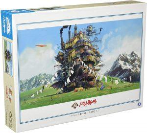 Los mejores puzzles de Studio Ghibli del viaje de Chihiro - Totoro - Puzzle de Ensky Howl's Moving Castle de 1000 piezas