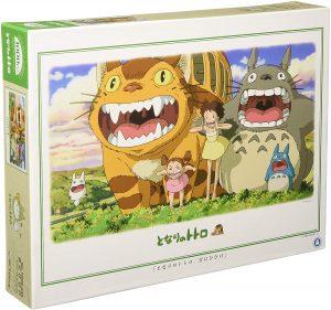 Los mejores puzzles de Studio Ghibli del viaje de Chihiro - Totoro - Puzzle de Mi vecino Totoro boca abierta de 1000 piezas