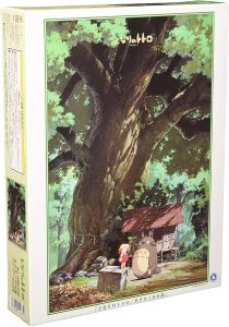 Los mejores puzzles de Studio Ghibli del viaje de Chihiro - Totoro - Puzzle de Mi vecino Totoro de árbol de alcanfor de 1000 piezas