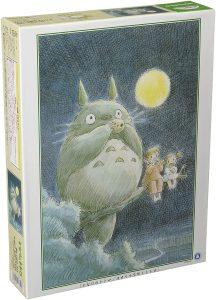 Los mejores puzzles de Studio Ghibli del viaje de Chihiro - Totoro - Puzzle de Mi vecino Totoro de dibujo de 1000 piezas