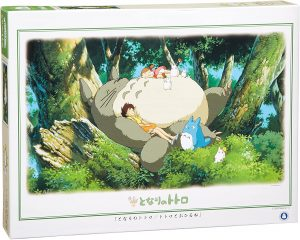 Los mejores puzzles de Studio Ghibli del viaje de Chihiro - Totoro - Puzzle de Mi vecino Totoro durmiendo de 1000 piezas