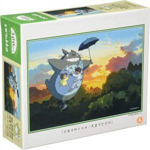 Los mejores puzzles de Studio Ghibli del viaje de Chihiro - Totoro - Puzzle de Mi vecino Totoro volando de 300 piezas