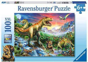 Los mejores puzzles de T-Rex - Puzzle de T-Rex de 100 piezas de Ravensburger