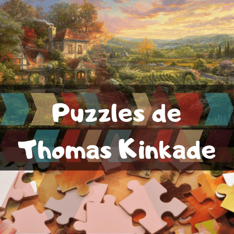 Los mejores puzzles de Thomas Kinkade
