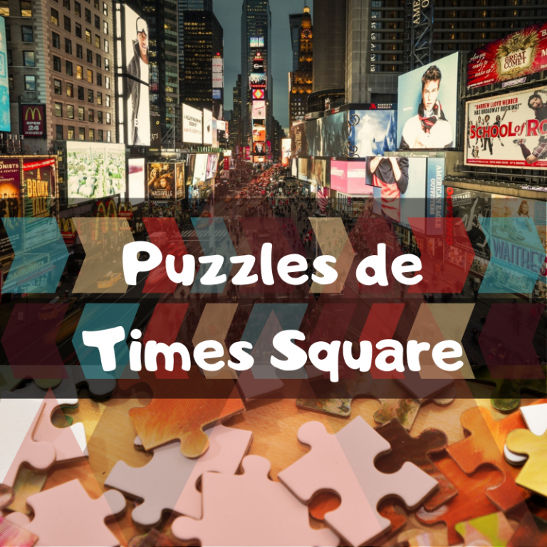 Los mejores puzzles de Times Square