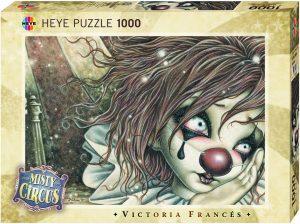 Los mejores puzzles de Victoria Francés - Puzzle de Misty Circus de Victoria Francés de 1000 piezas de Heye