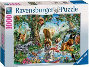 Los mejores puzzles de animales - Puzzles de animales con cascada de 1000 piezas de Ravensburger