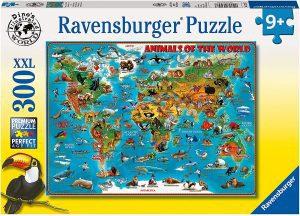 Los mejores puzzles de animales - Puzzles de animales del mundo de 300 piezas de Ravensburger