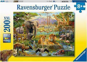 Los mejores puzzles de animales - Puzzles de animales salvajes de 200 piezas de Ravensburger