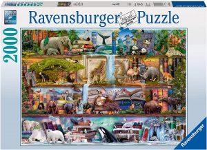 Los mejores puzzles de animales - Puzzles de animales salvajes de 2000 piezas de Ravensburger