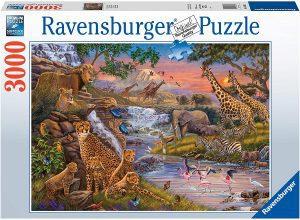 Los mejores puzzles de animales - Puzzles de animales salvajes de 3000 piezas de Ravensburger